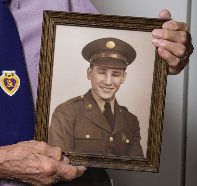 WWII Veteran, Joe Kovar