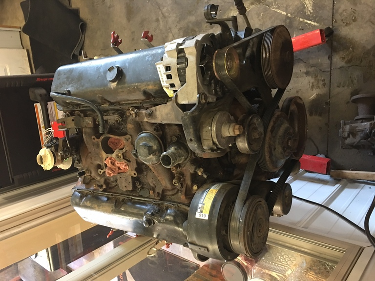454 Engine Rebuild 4 Bolt Main